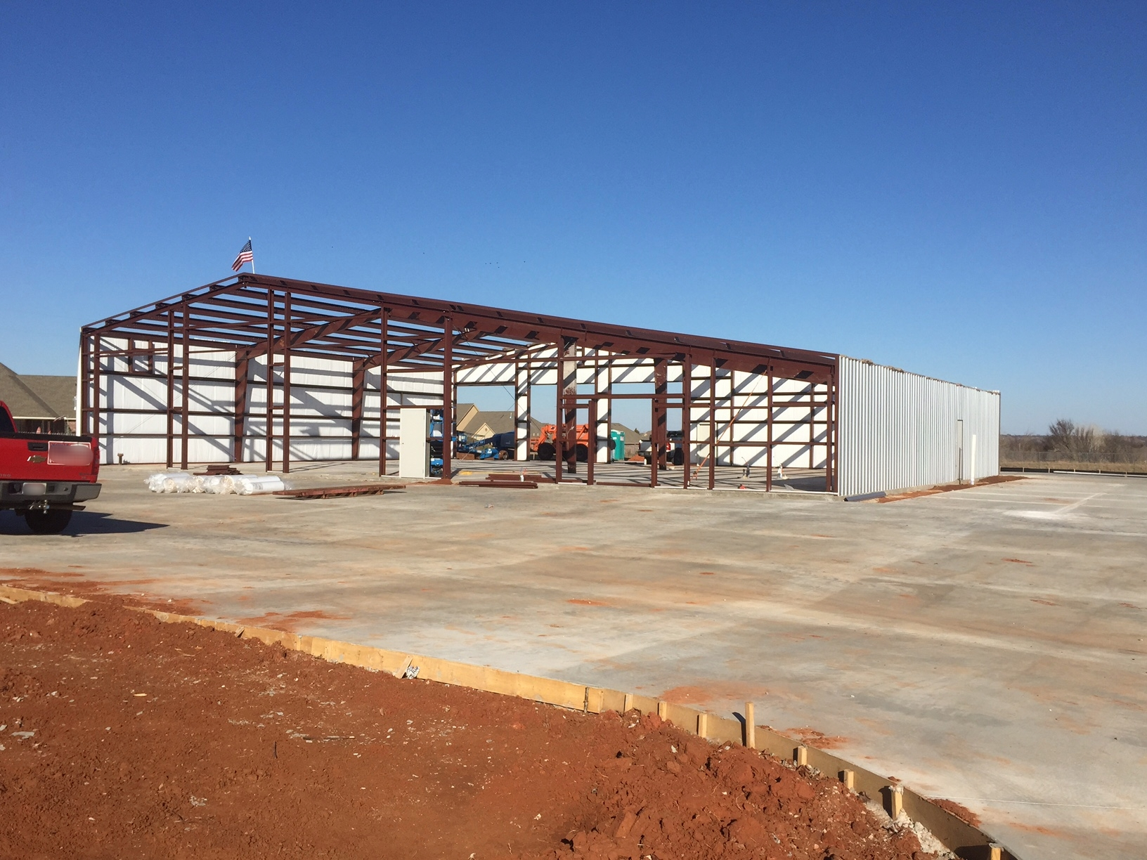 Fire Station Construction Deer Creek Edmond