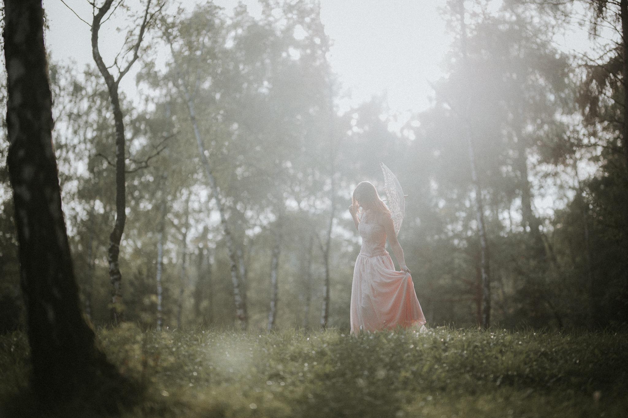 Sesja w lesie wolskim w krakowie