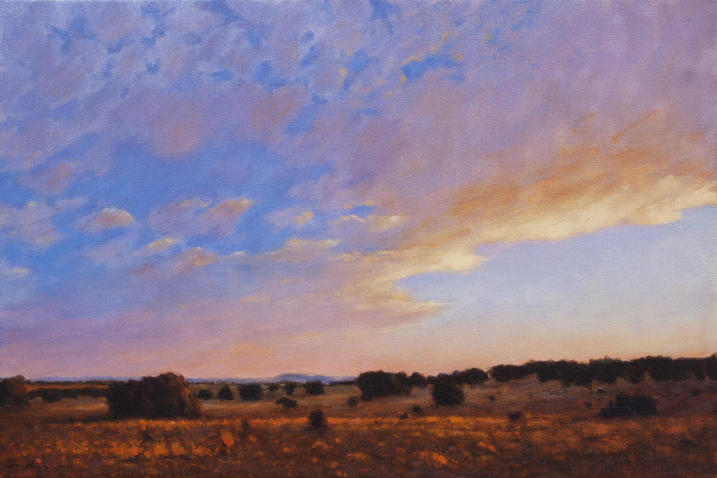 "A New Landscape Every Minute • 20"" x 30"" • Oil"