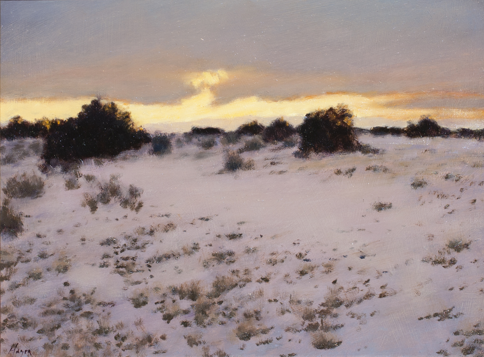 "Band of Light • 12"" x 16"" • Oil"