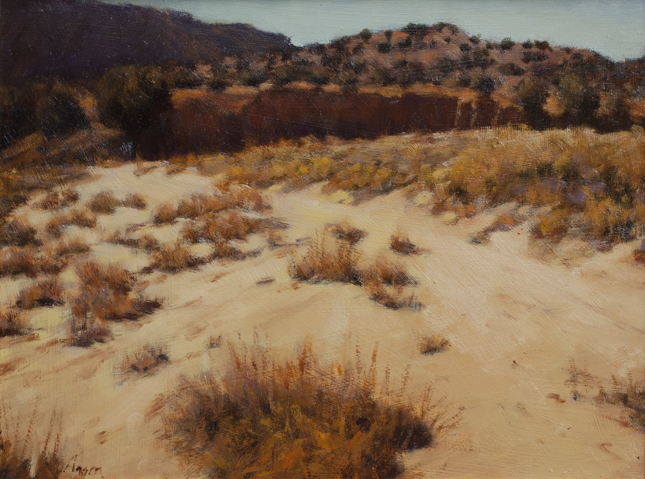 "Sandy Arroyo • 11"" x 14"" • Oil"