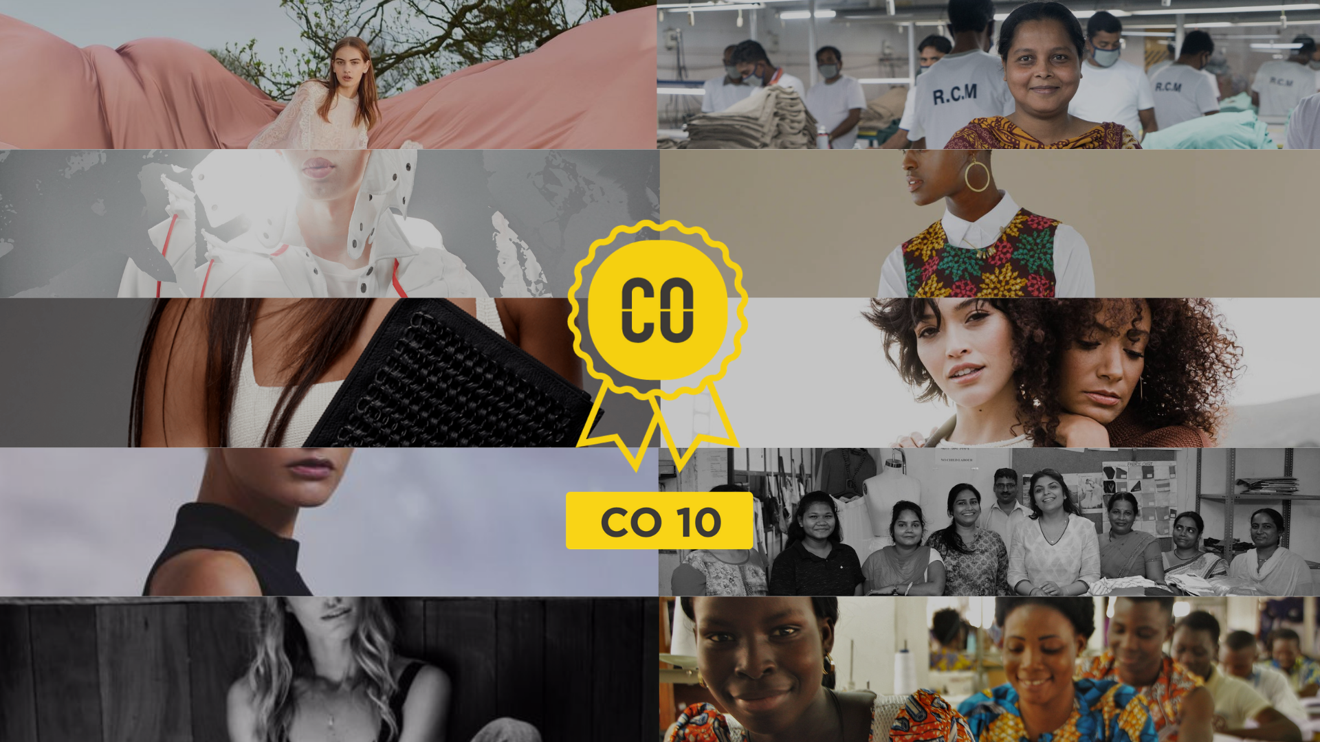 The CO 10 winners were selected from a shortlist of 41 businesses - judged independently by a panel of expert industry leaders. Find out more about the winners below and view the shortlists of  brands  and  suppliers  for more inspiration.