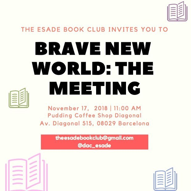 We invite you to our first Book Club Meeting!