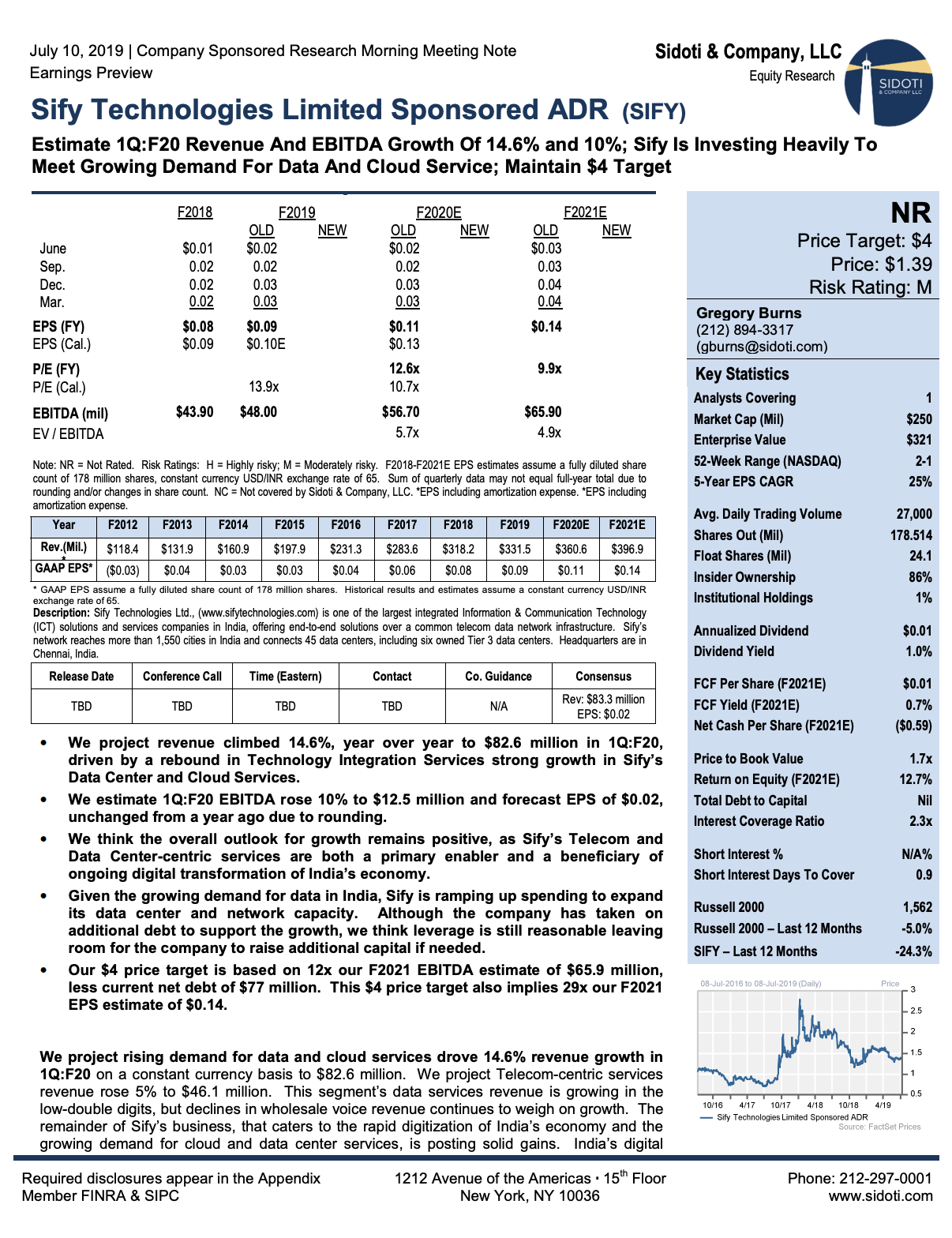 Earnings Preview: July 10, 2019