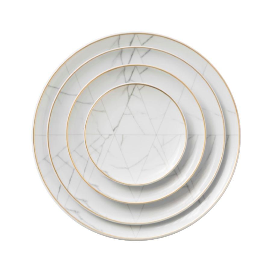 geometric carrara dinnerware plates - tabletop rentals - dc - miami - new york - atlanta.jpg