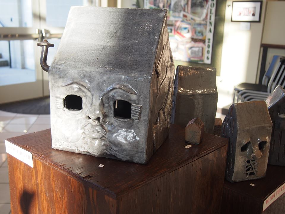 Little Lost Town of Homeless Homes - Collection of houses that were raku fired