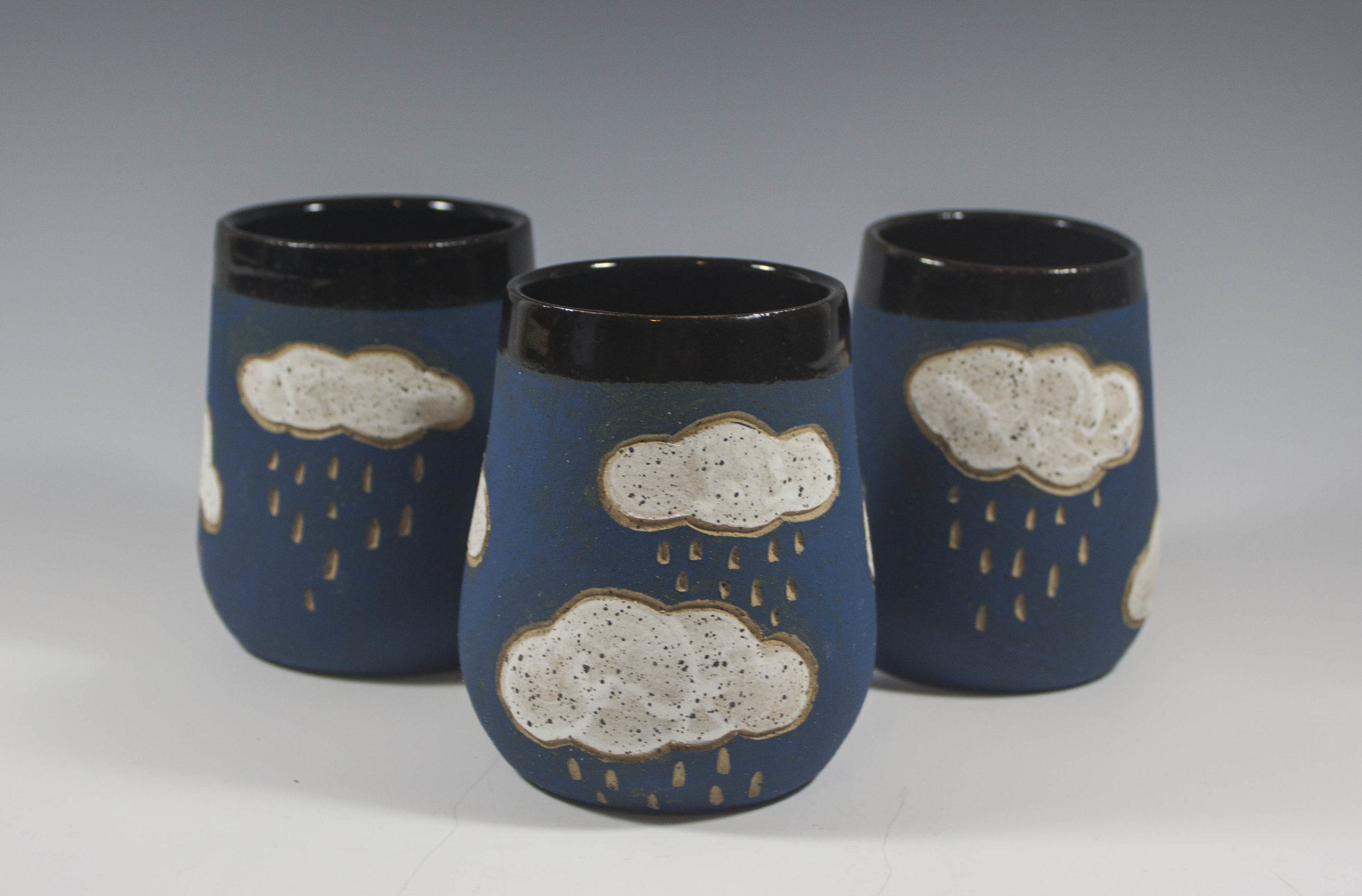 Rainy Day Cloud Wine Glasses - Everything and so much more!