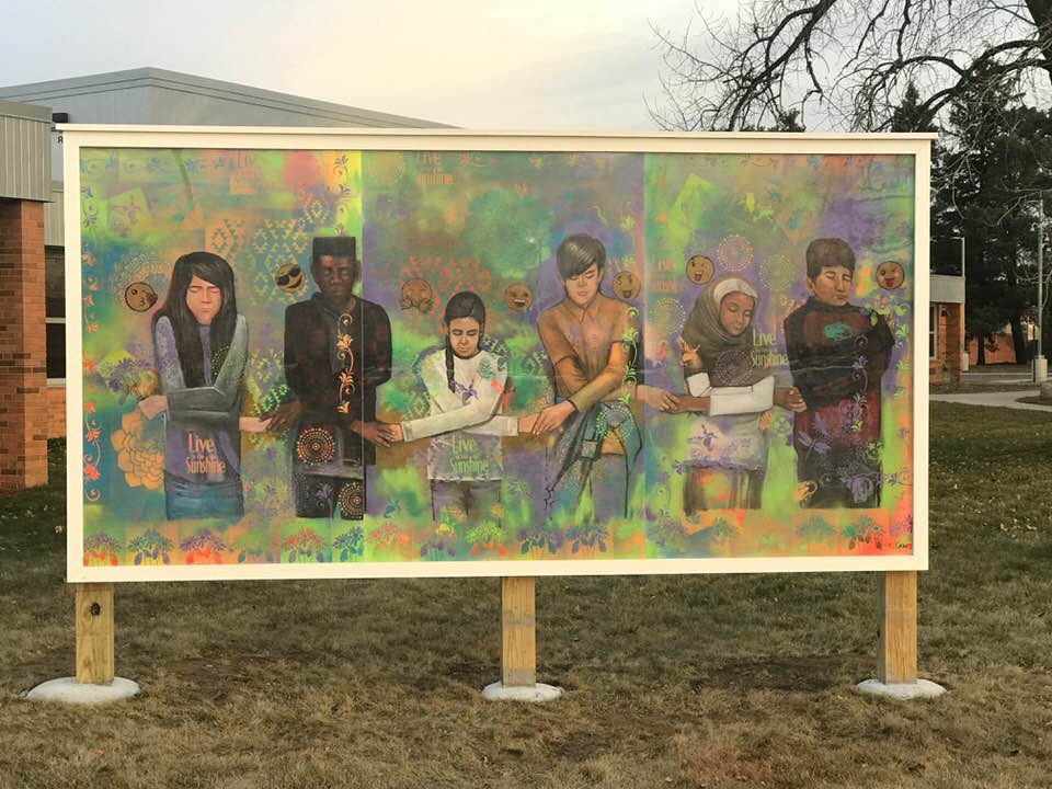 School Mural Project - Northport Elementary, Brooklyn Center, MN