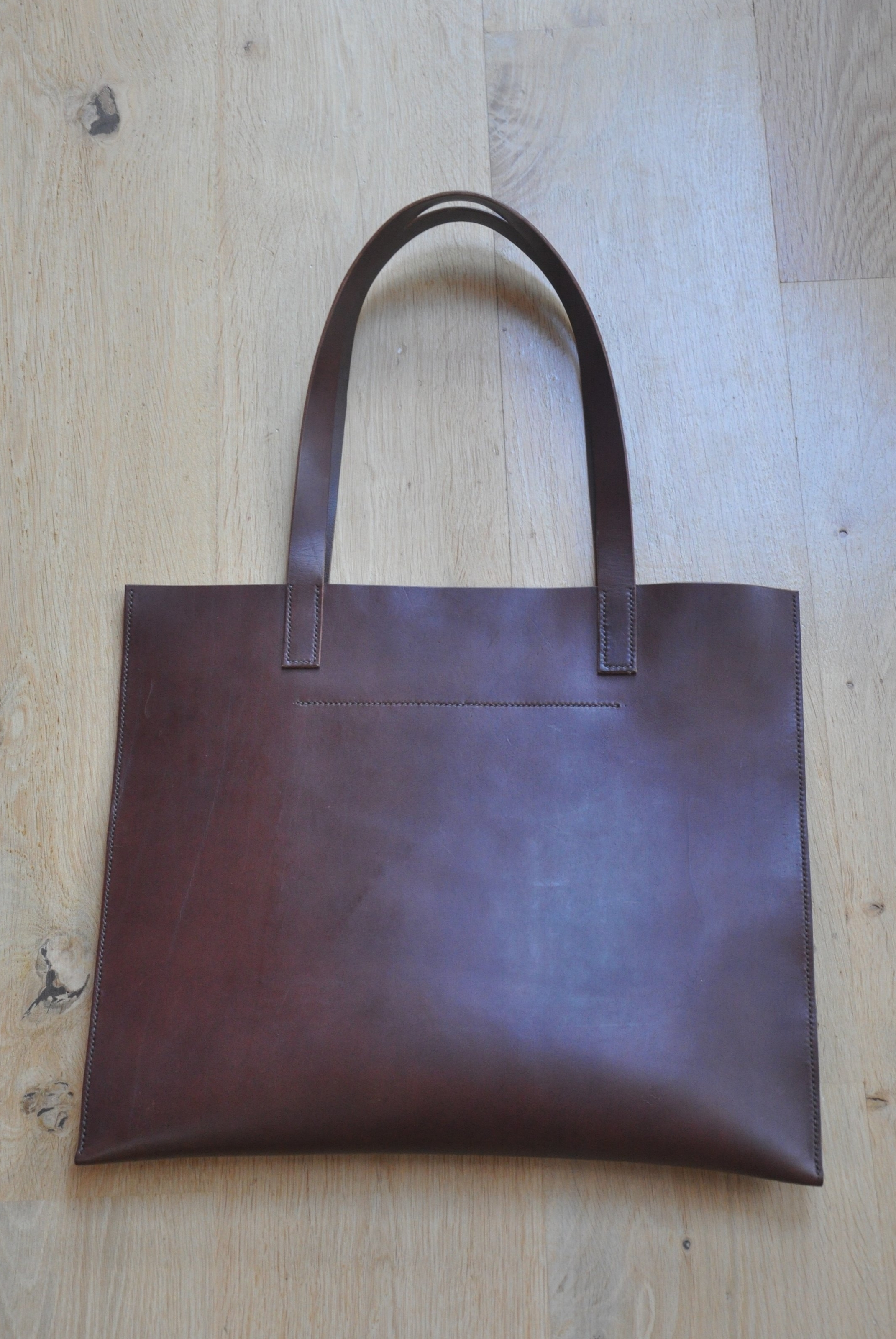 Brown Document Tote, £120