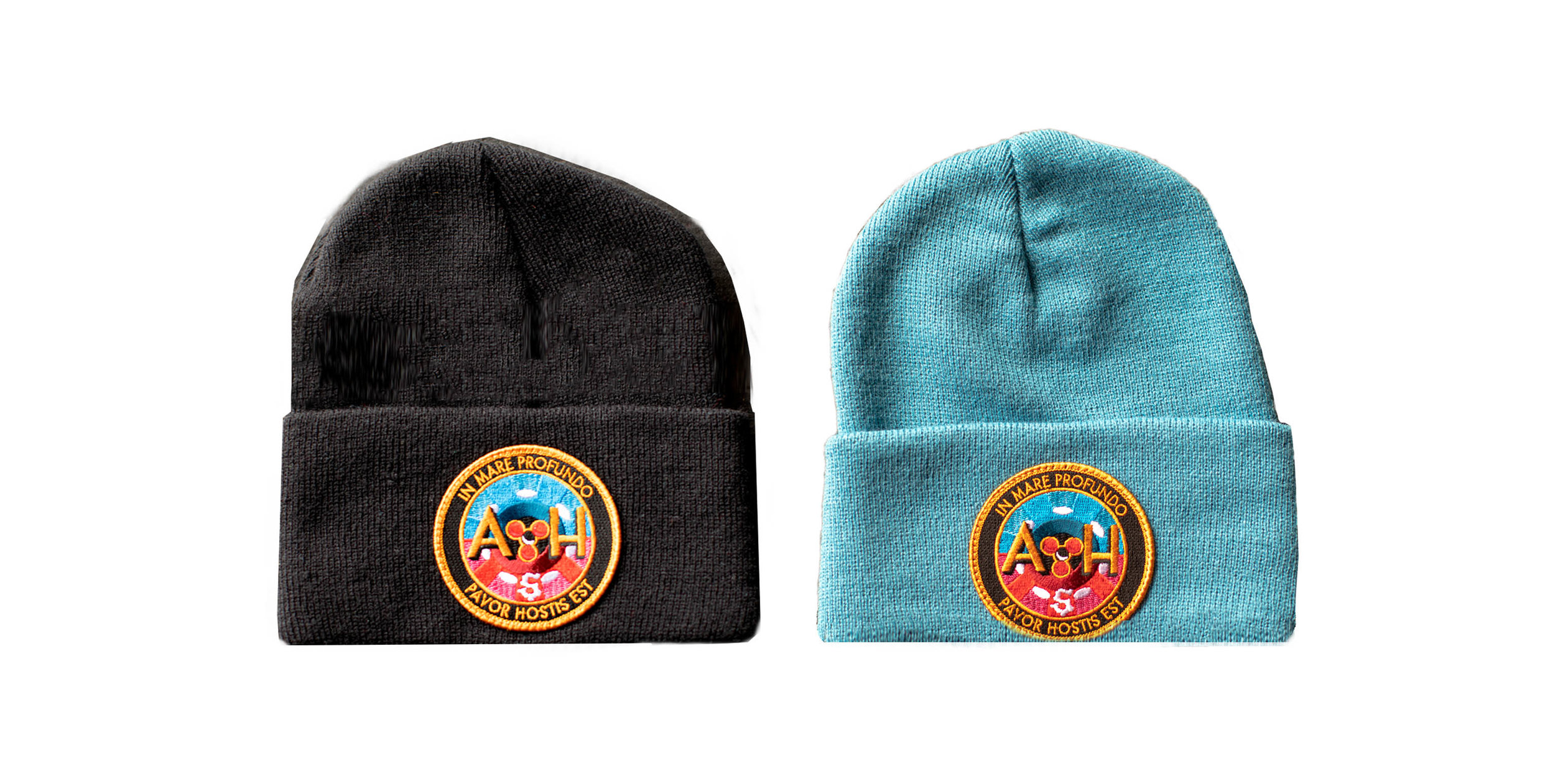 Watch Cap with Official Acid Horizon Mission Patch - Blue or Black. Please specify preference below.