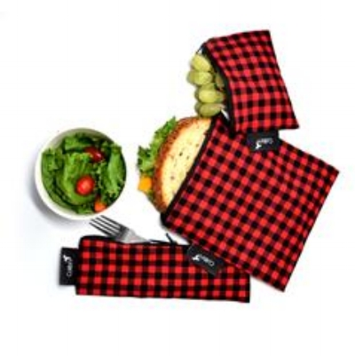 🍁  Colibri    An excellent product to help you integrate small steps toward less waste, Colibri snack bags can be used in place of disposable plastic snack bags. They can be used to store food or other small items like utensils or toothbrushes. We carry all three sizes of snack bags - wide, small and large.