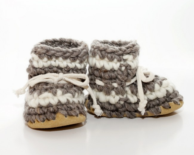 🍁    Padraig Cottage Slippers    Every single staff at Two Mothers owns a pair of Padraigs. These hand-crafted slippers last for years. We carry sizes newborn through Men's XL so the whole family can have a pair!