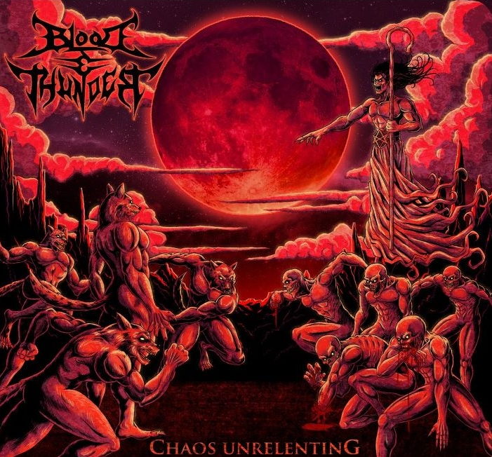 Chaos Unrelenting EP - 2012Track Listing:1. Calling the Cavalry2. Under a Blood Red Moon
