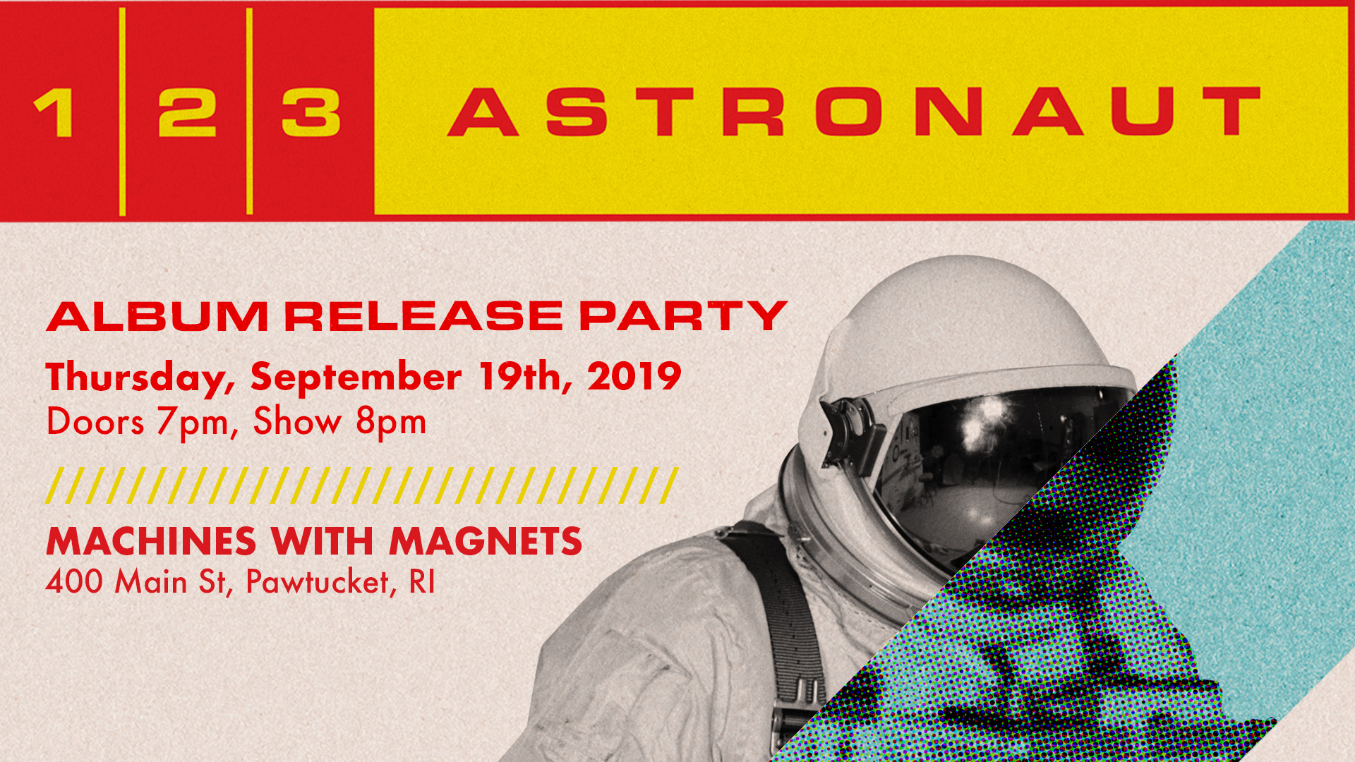 123 Astronaut Party
