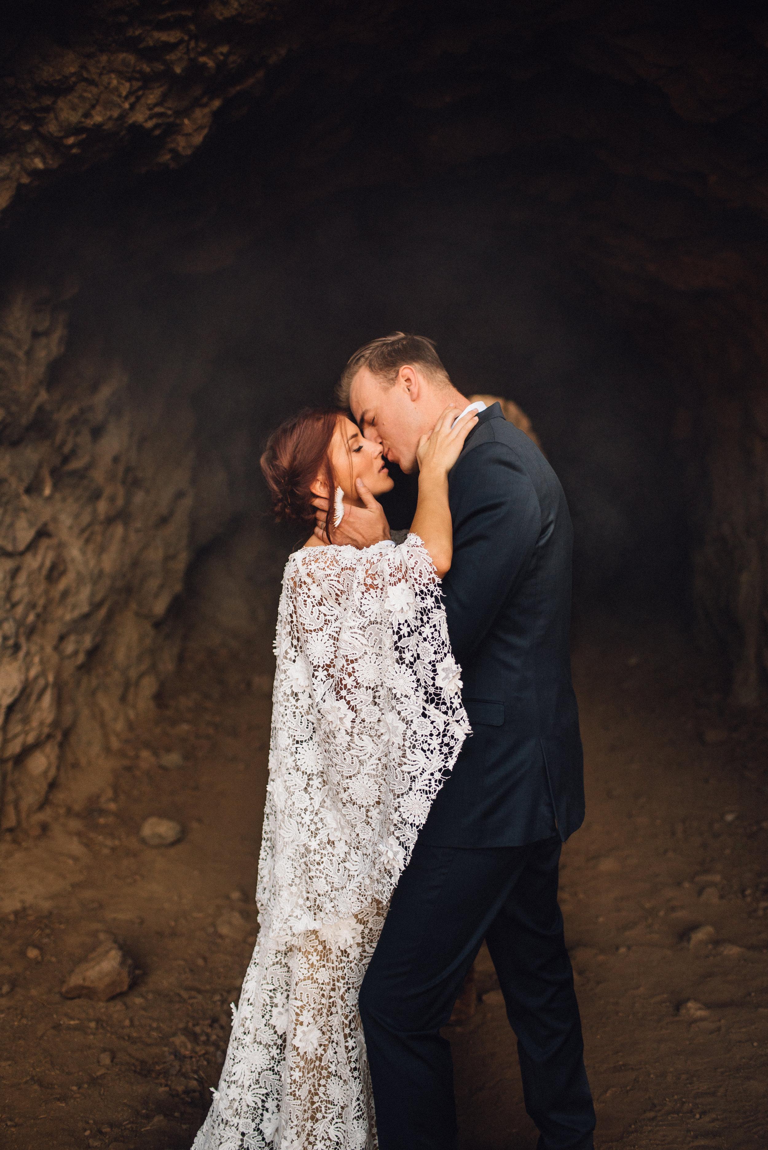 Aaron & Toni // Bronson Caves Elopement