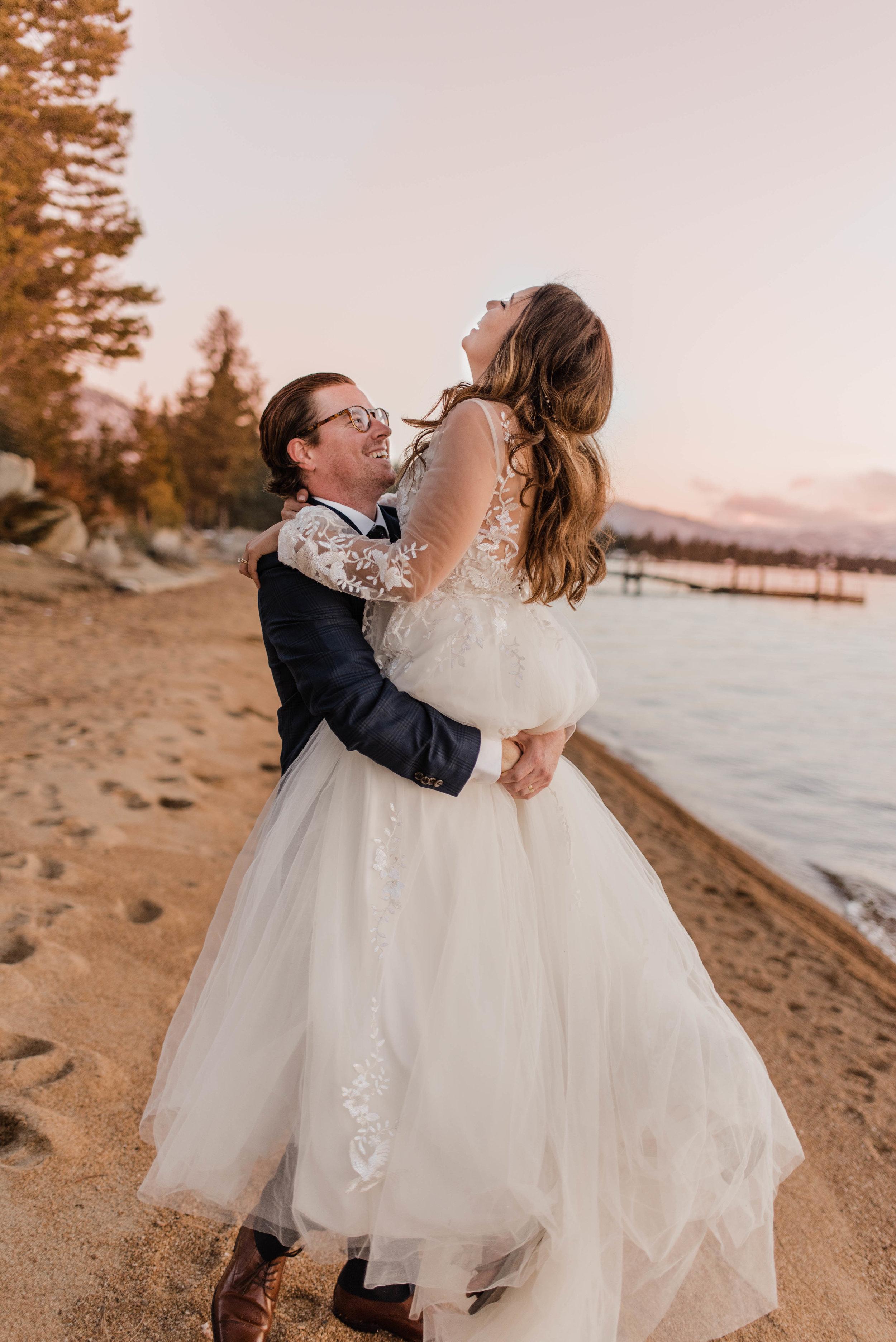 Matt & Ariana // Edgewood Tahoe Lake Tahoe