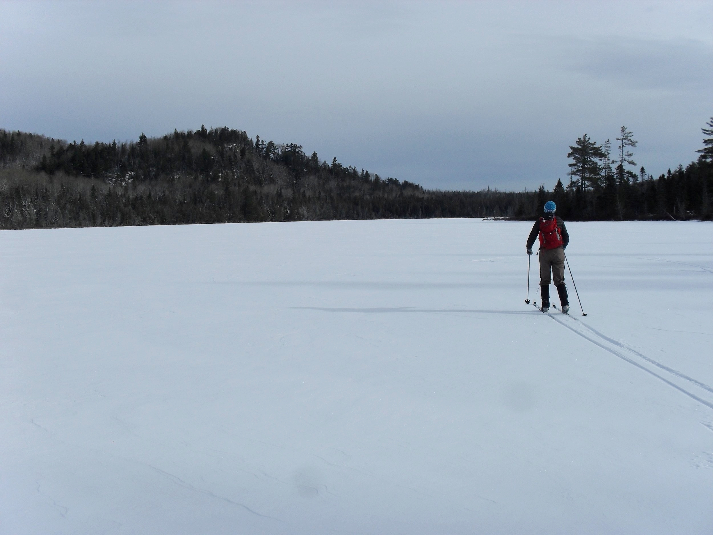 Sure, there are plenty of trails for skiing, but there are also pristine, undeveloped ponds.
