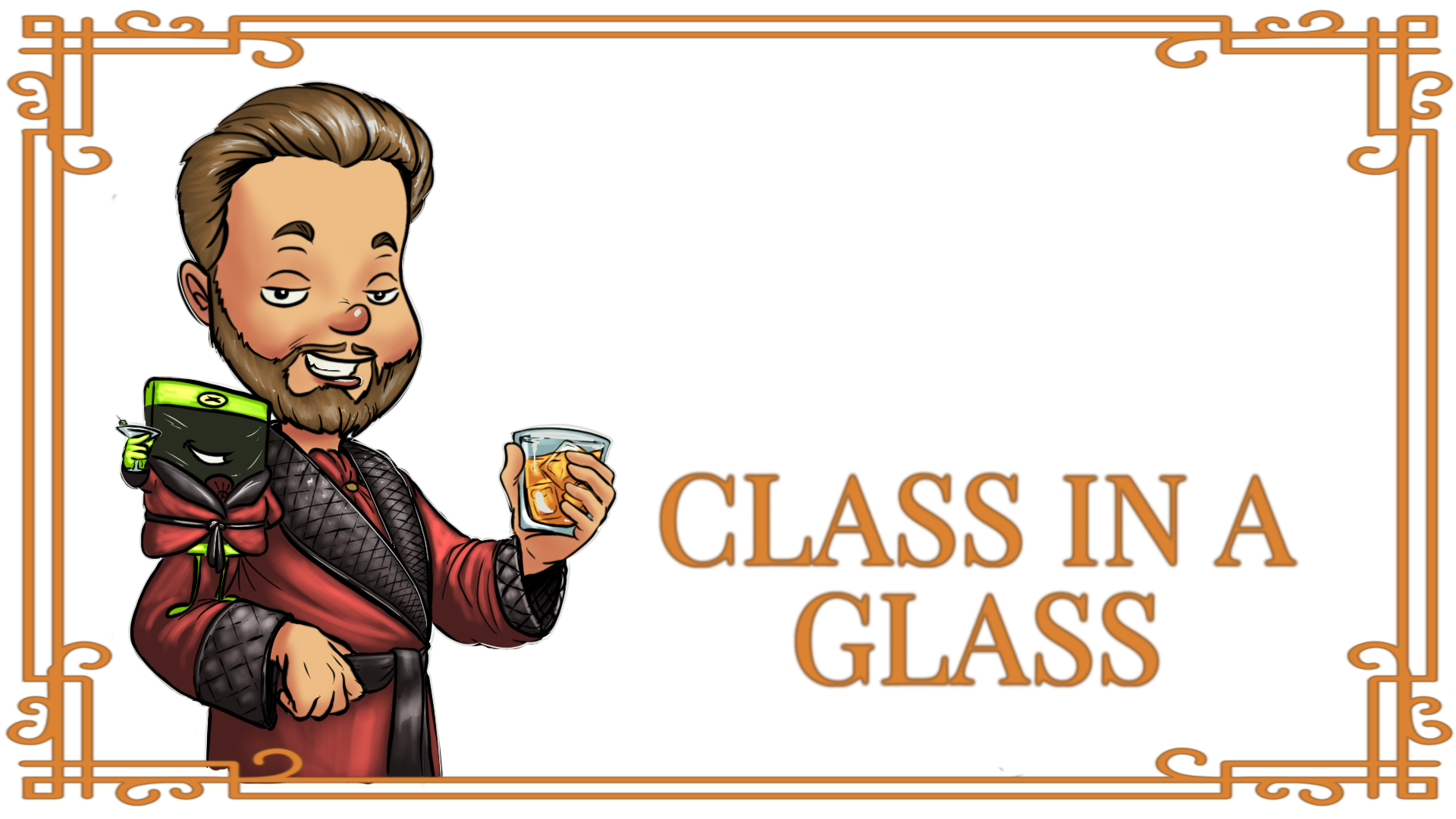 Class in a glASS - A game with class that you can enjoy with your favorite beverage, this title offers one of the best video game experiences you can play.