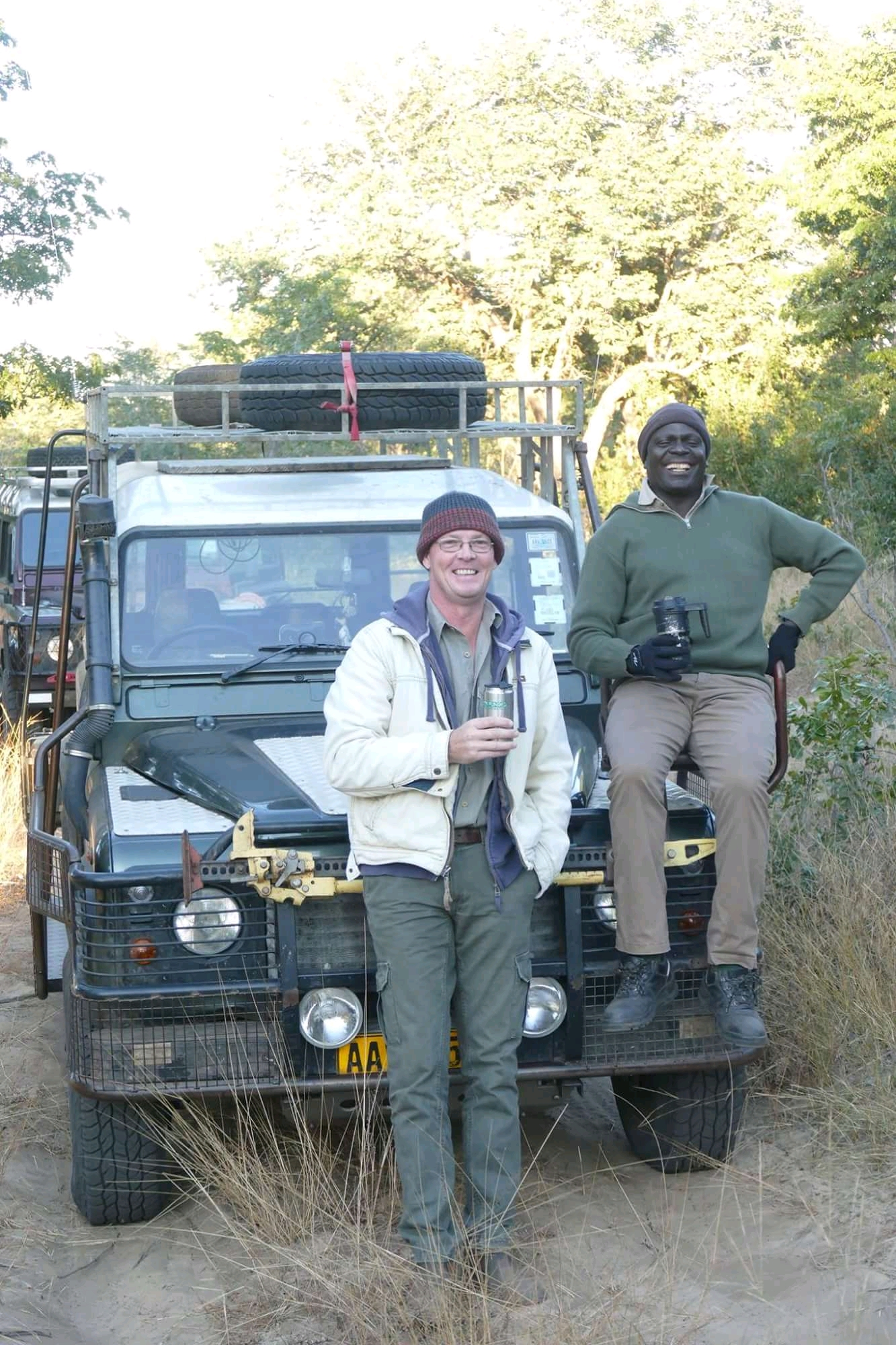 Peter Blinston and Jealous Mpofu