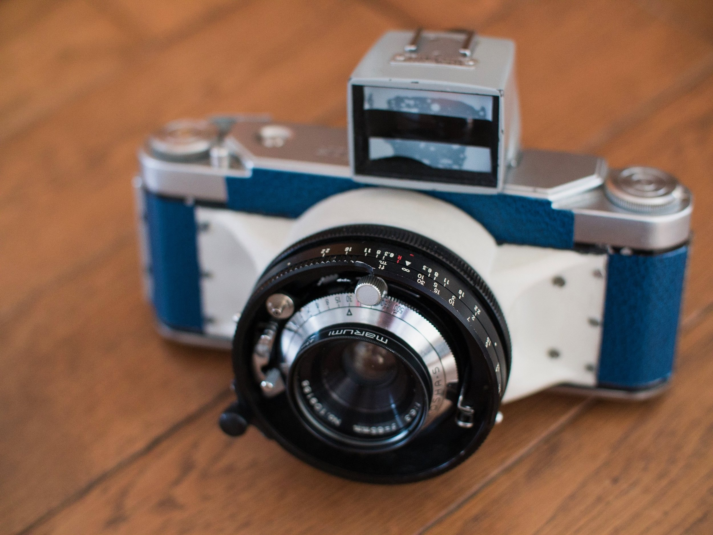 """My first build, the """"Franken Camera"""" that I called the Panomicron"""