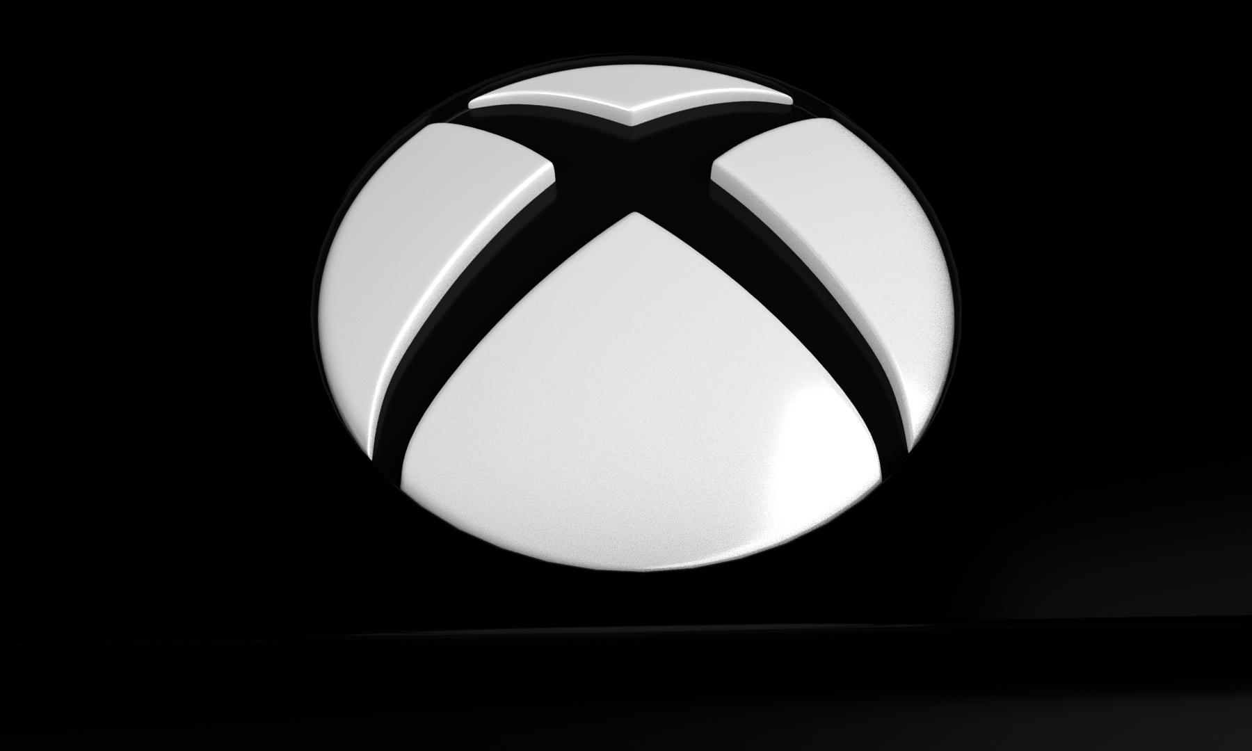 Xbox Logo Close up