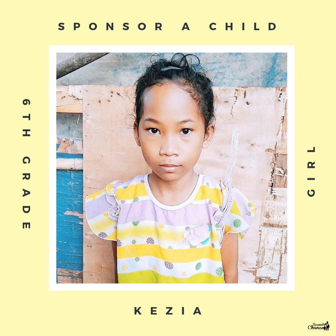 sponsor Kezia