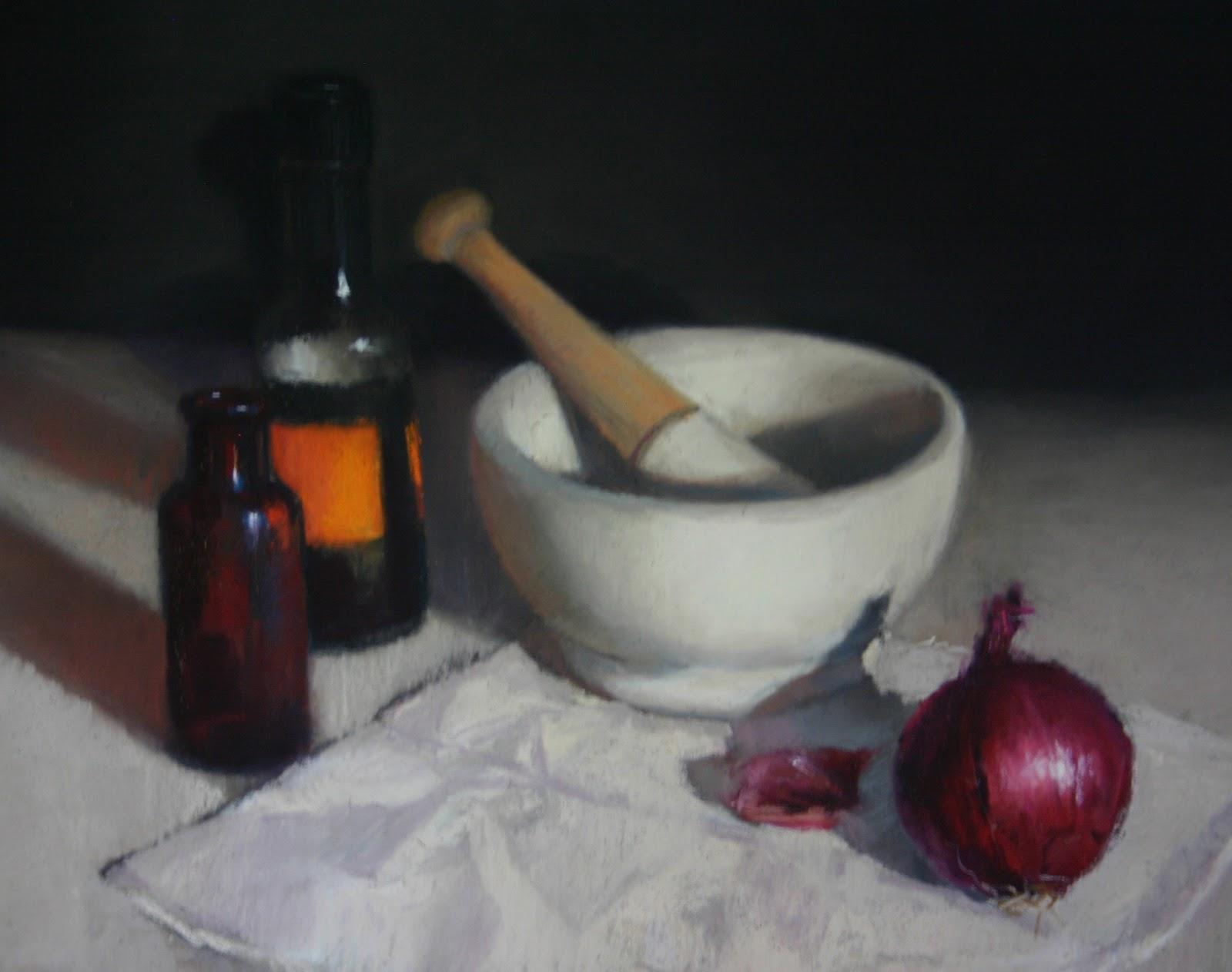Pestle and Mortar - Pastel