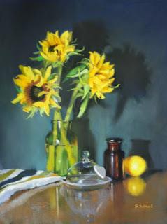 Sunflowers - Pastel