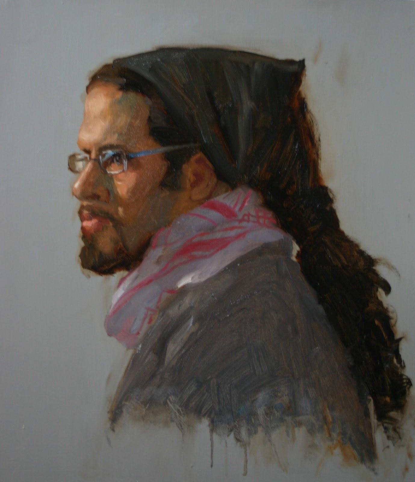 Samir - Pastel Sketch