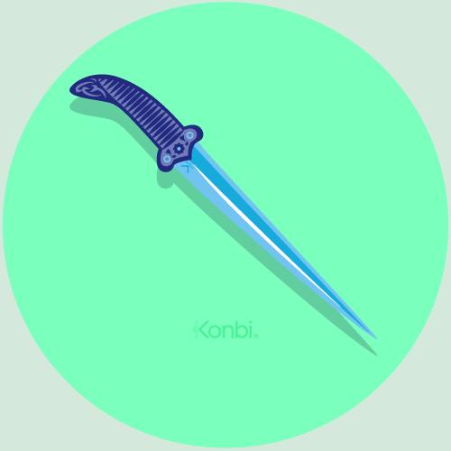 The Dagger  - Arabic horoscope by astrOrient © Konbi