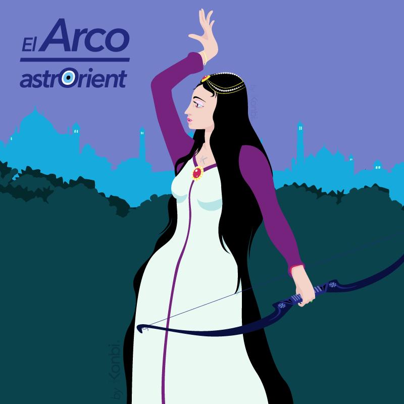 El Arco - Signo del horóscopo árabe por astrOrient © Konbi