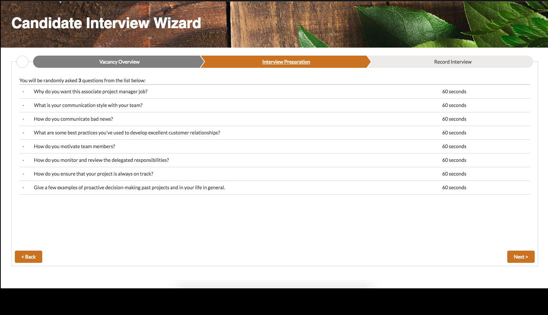 Video Wizard - Interview Preparation