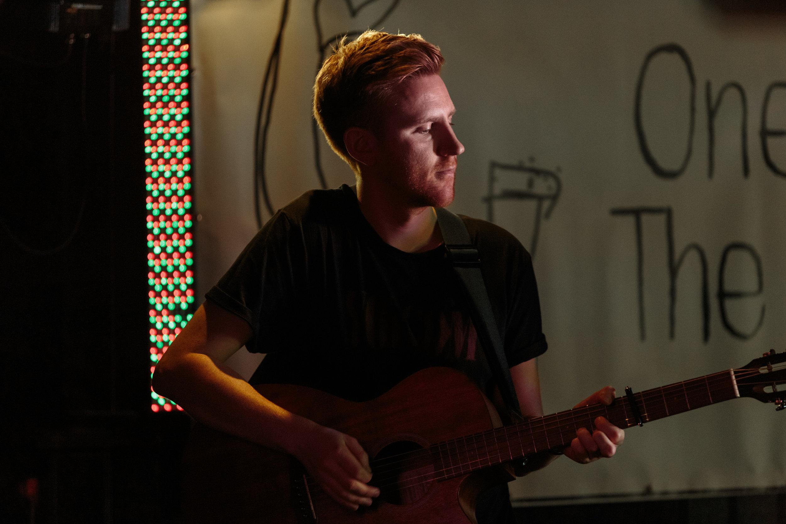 Luke Purcell of Sing Ramona Sing