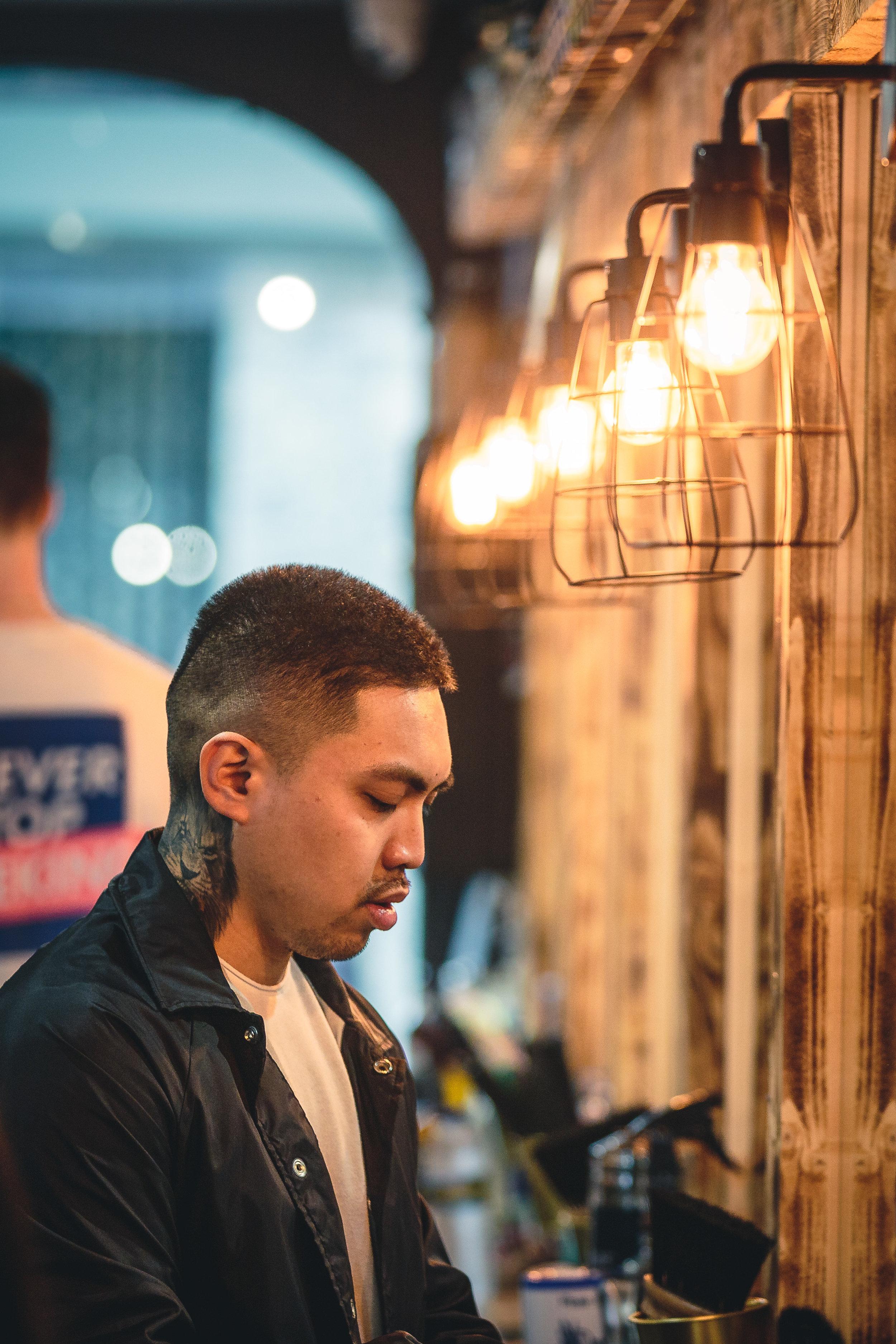 Barber Preperation