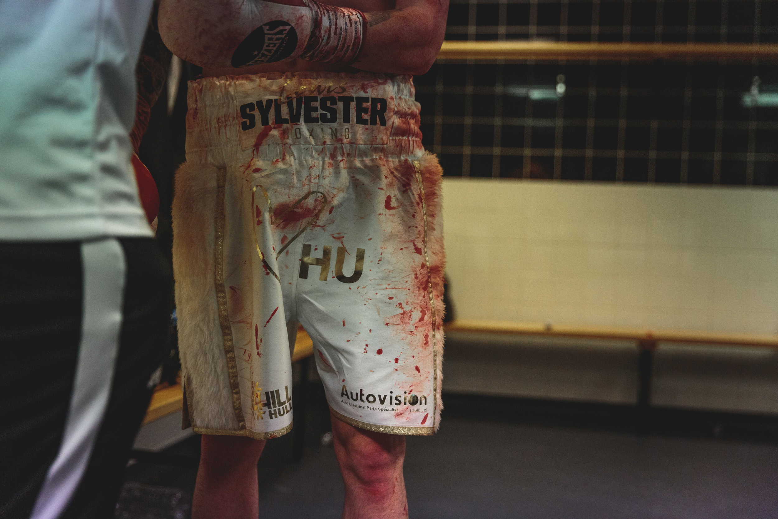 Lewis Sylvester's Bloody Shorts