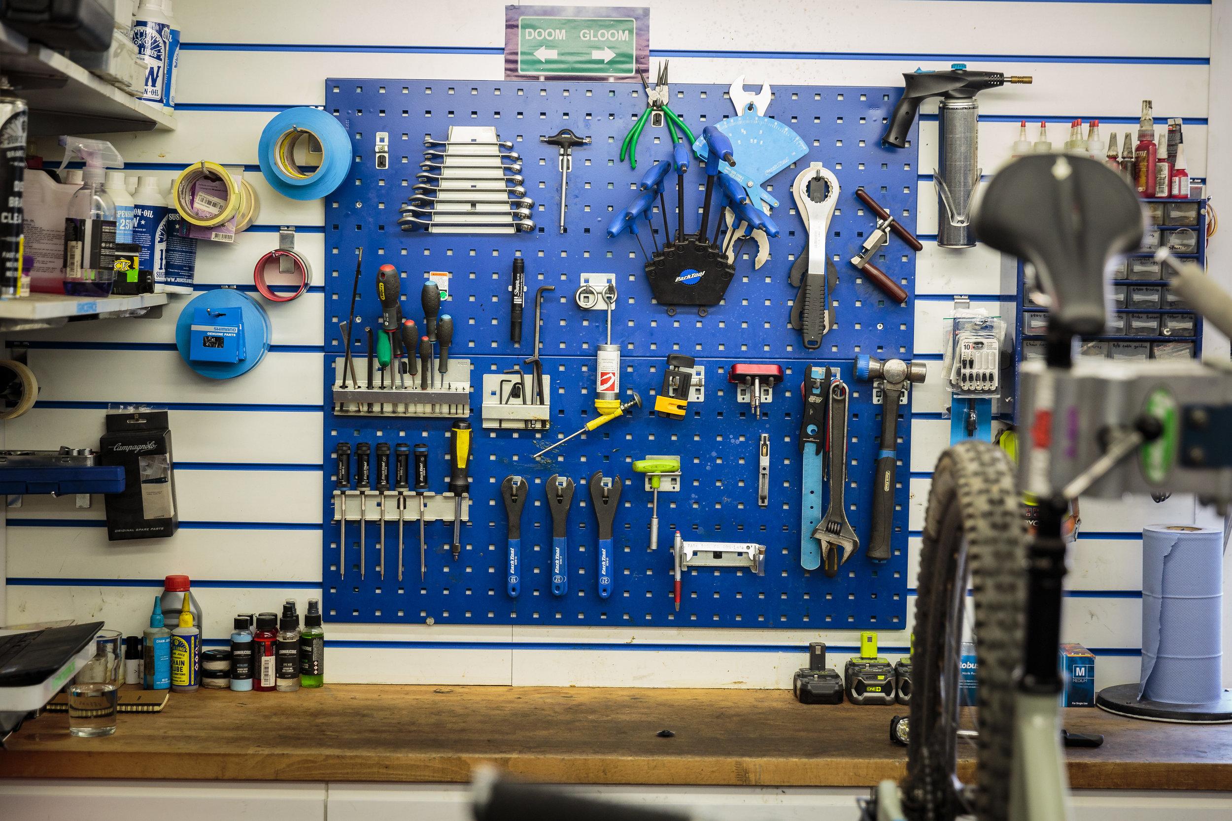 Bike Maintenance Tools