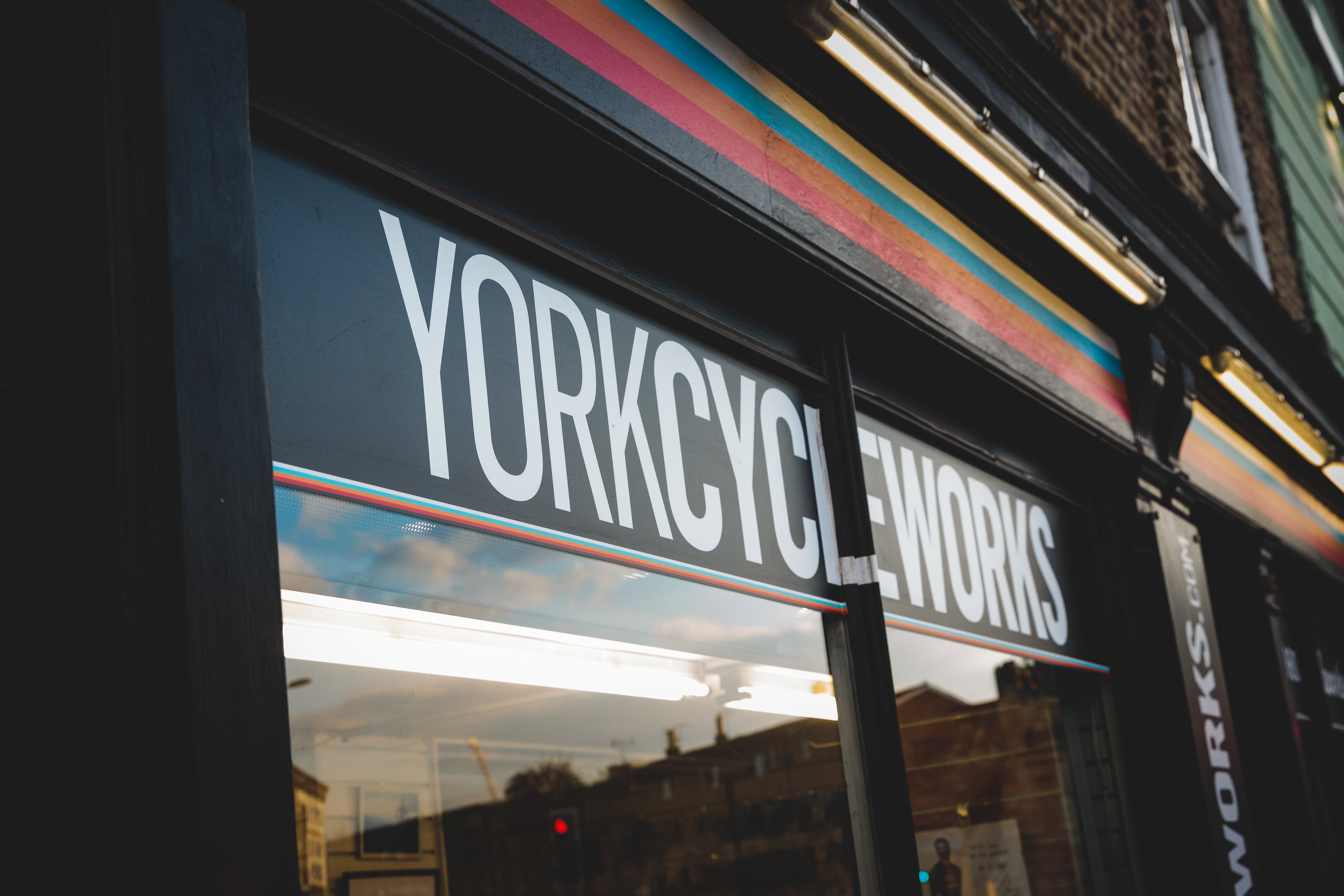 York Cycleworks Storefront