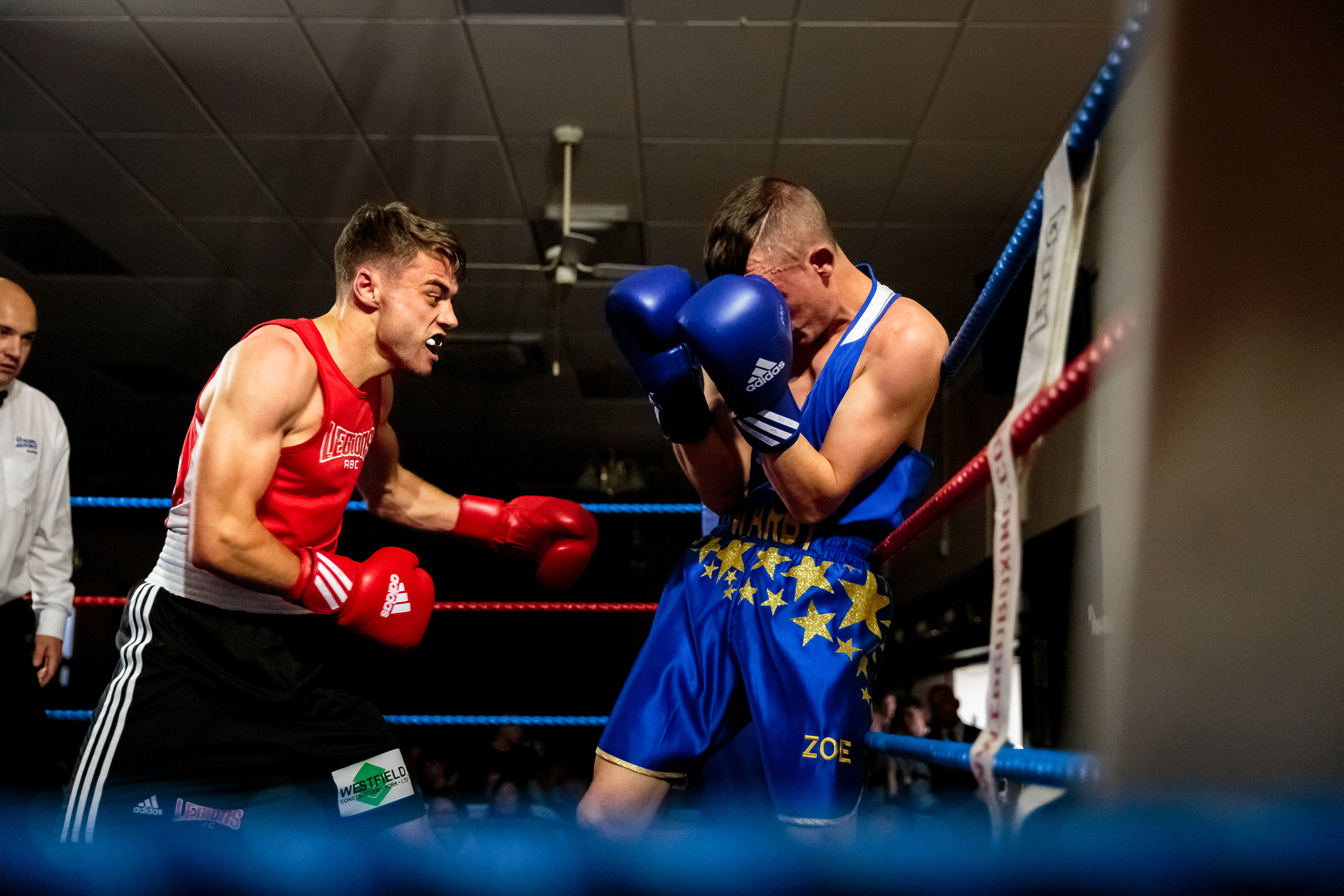 Boxing Photography by Chris Kendall