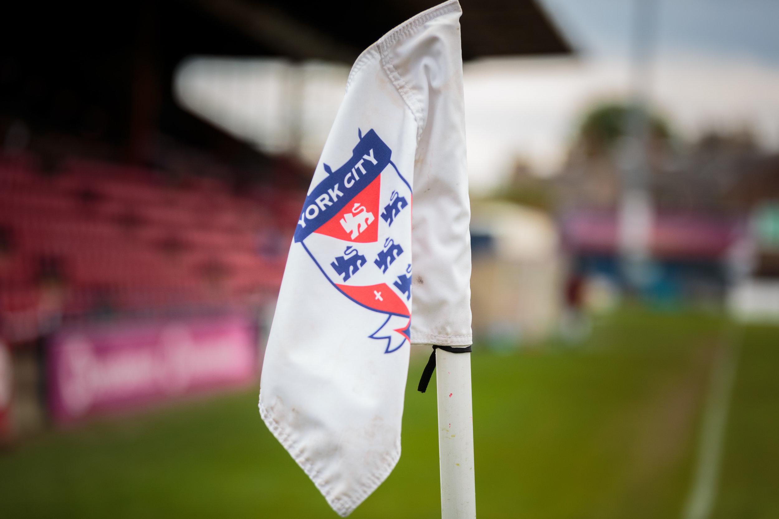York City Football Club Corner Flag
