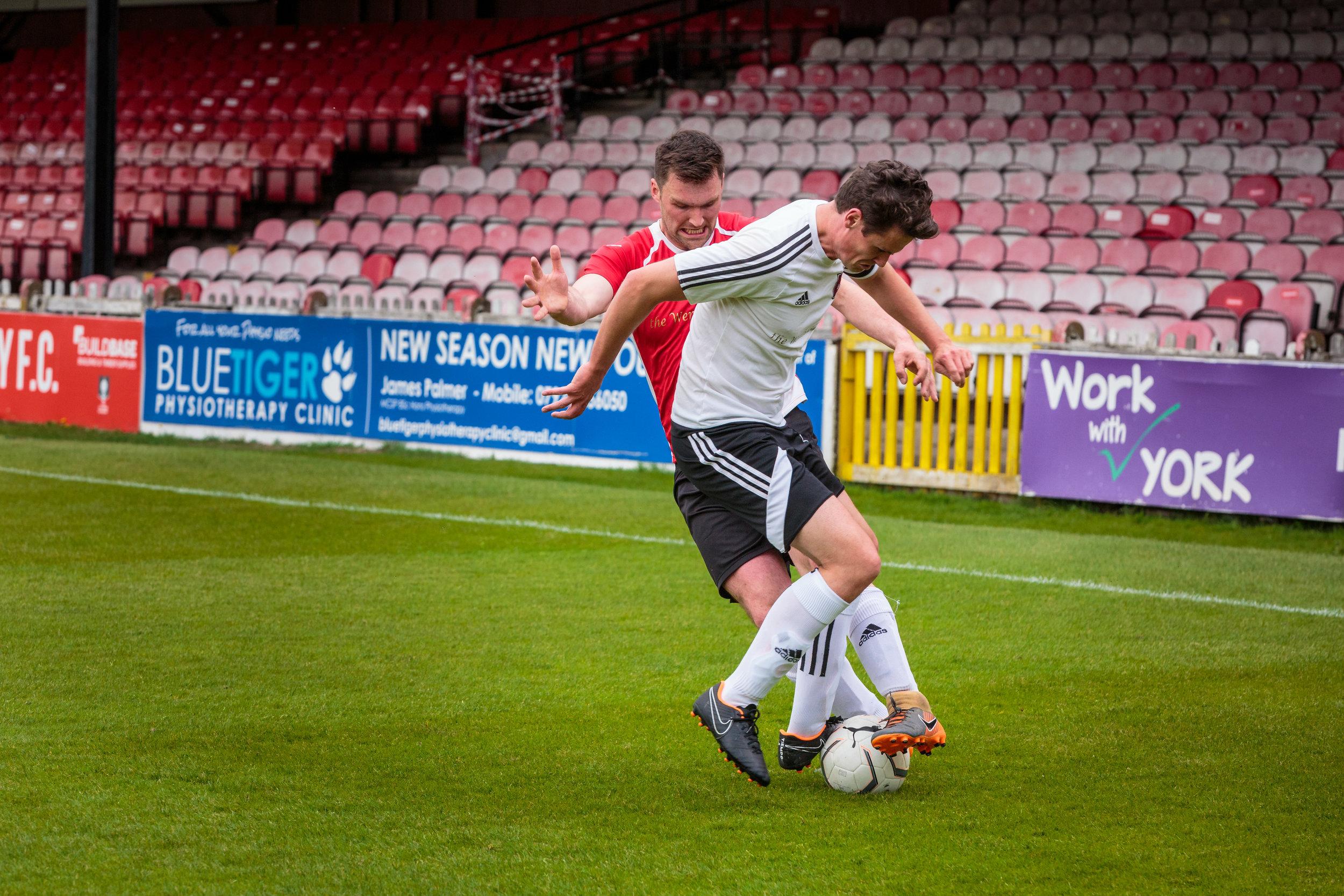 Footballlers for Wheldrake Football Club