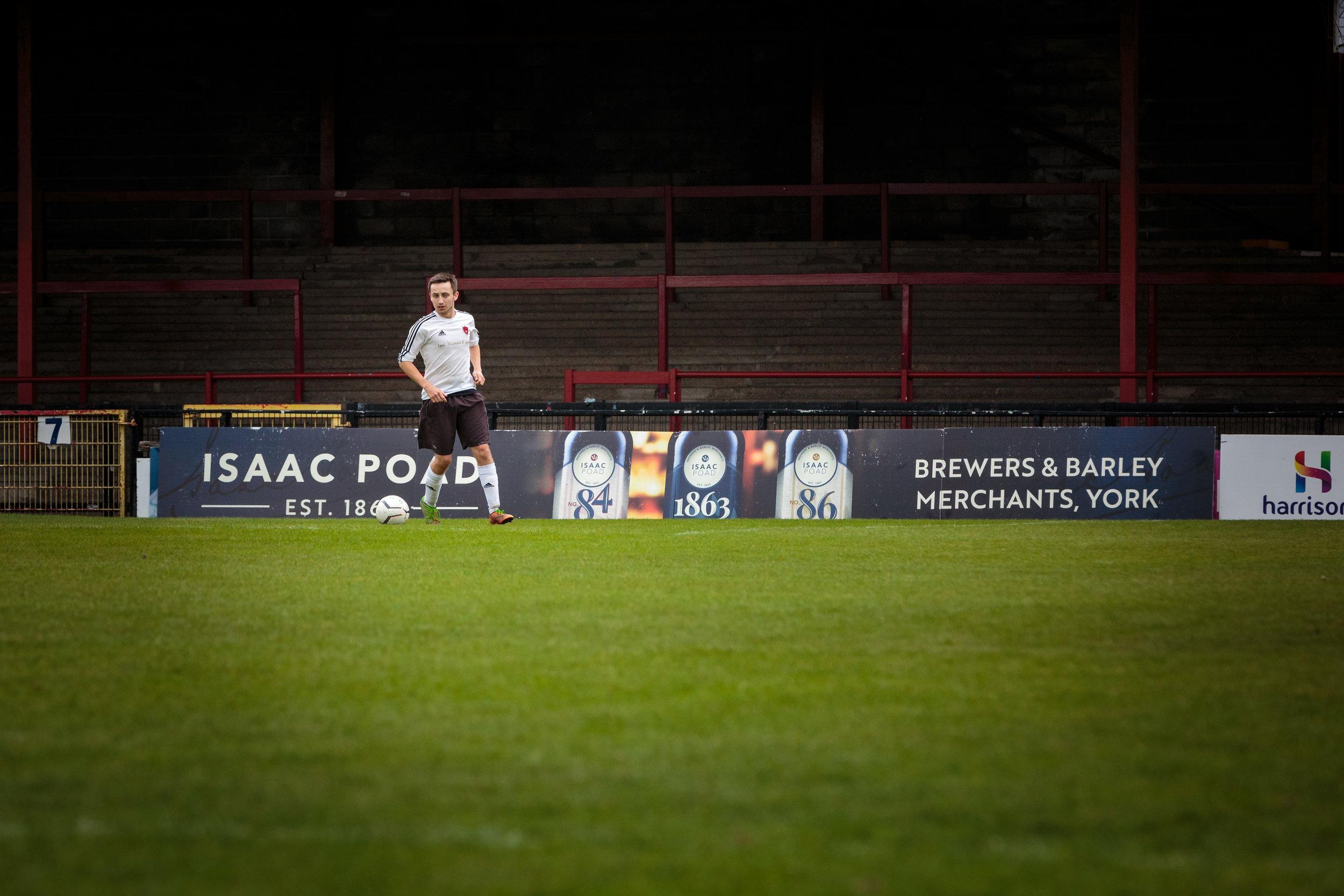 Wheldrake Football Club at Bootham Crescent