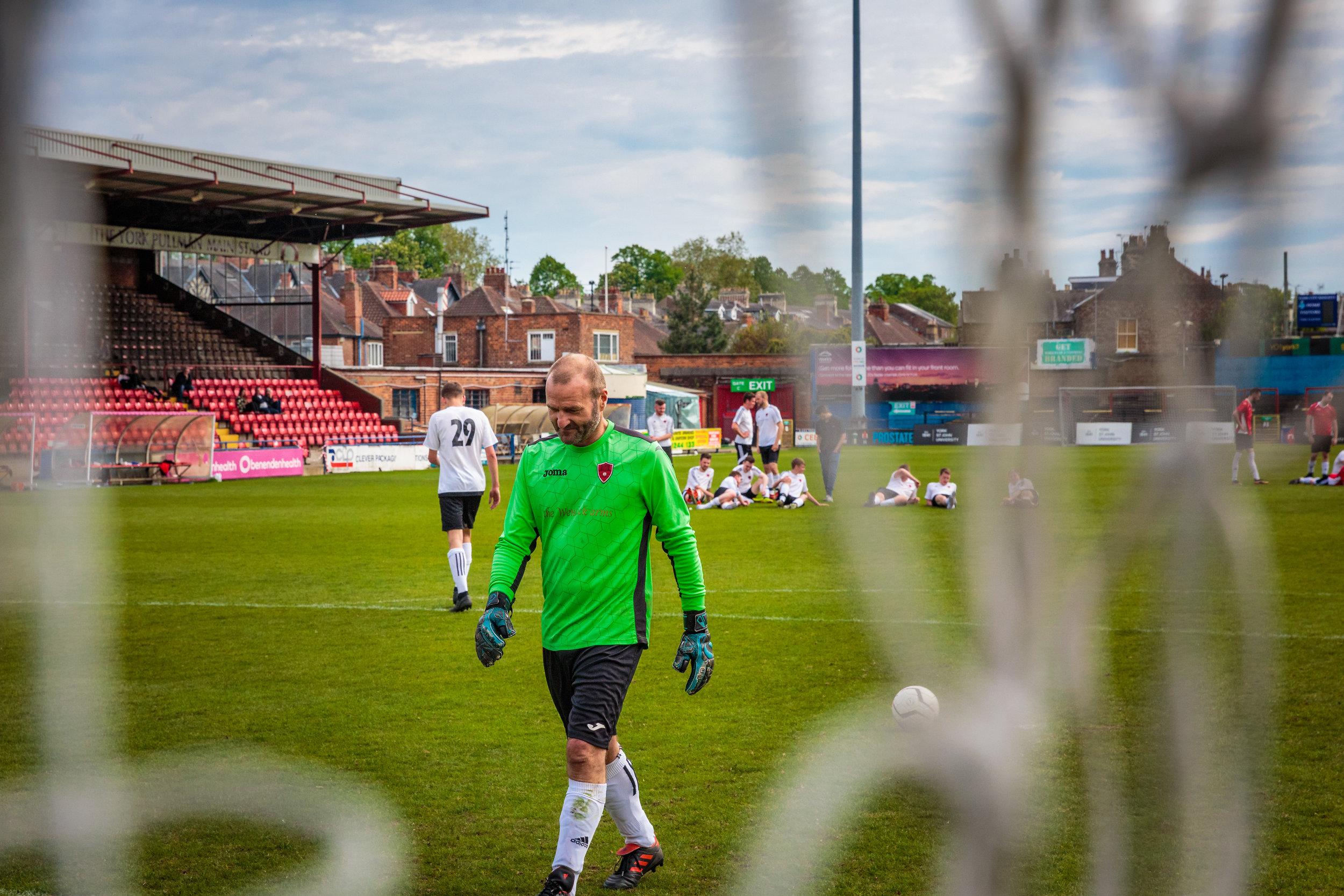 Wheldrake Football Club Goal Keeper