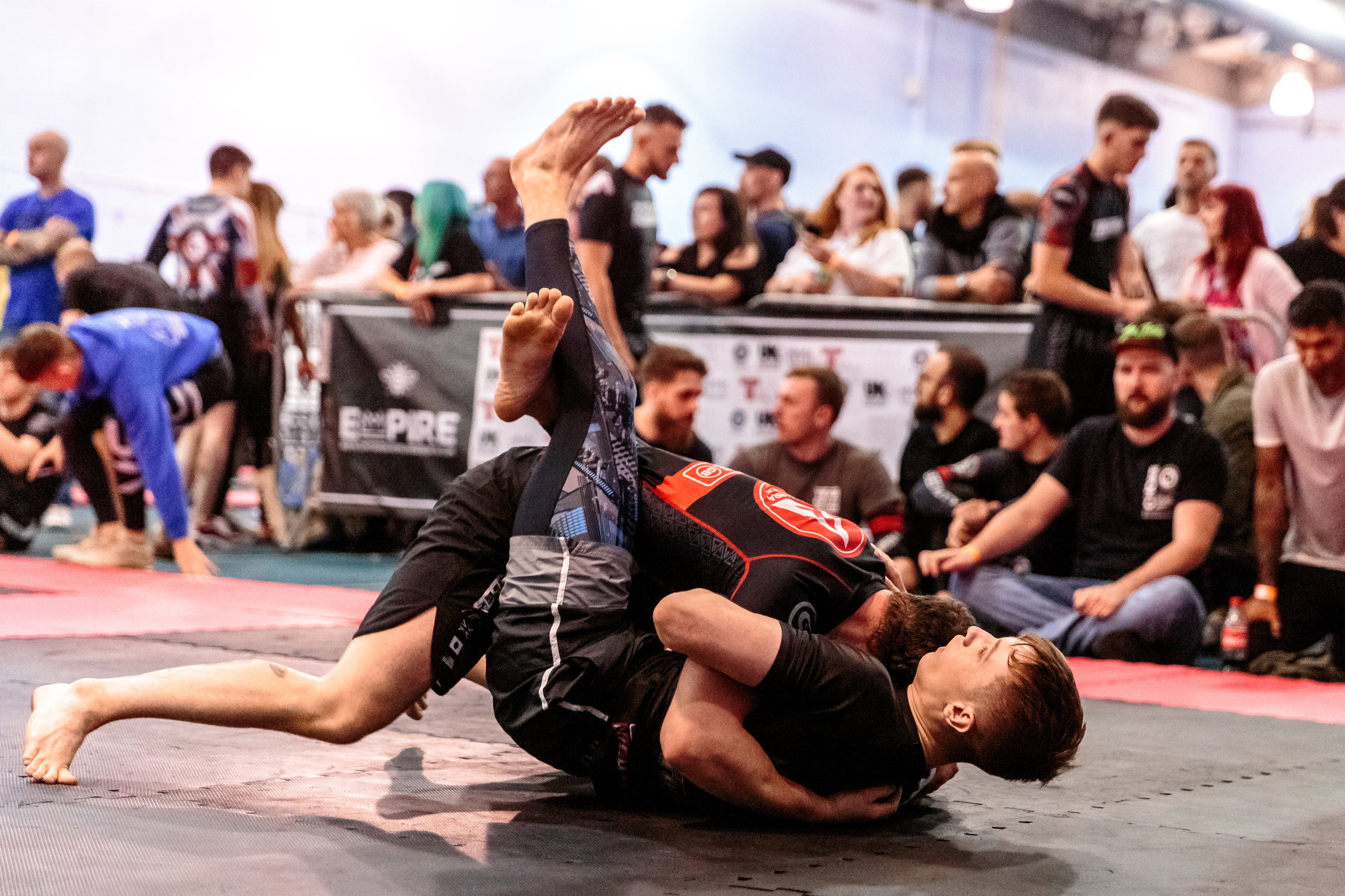 Hayden Baldwin Comfortable on the Bottom in BJJ at Empire Grappling