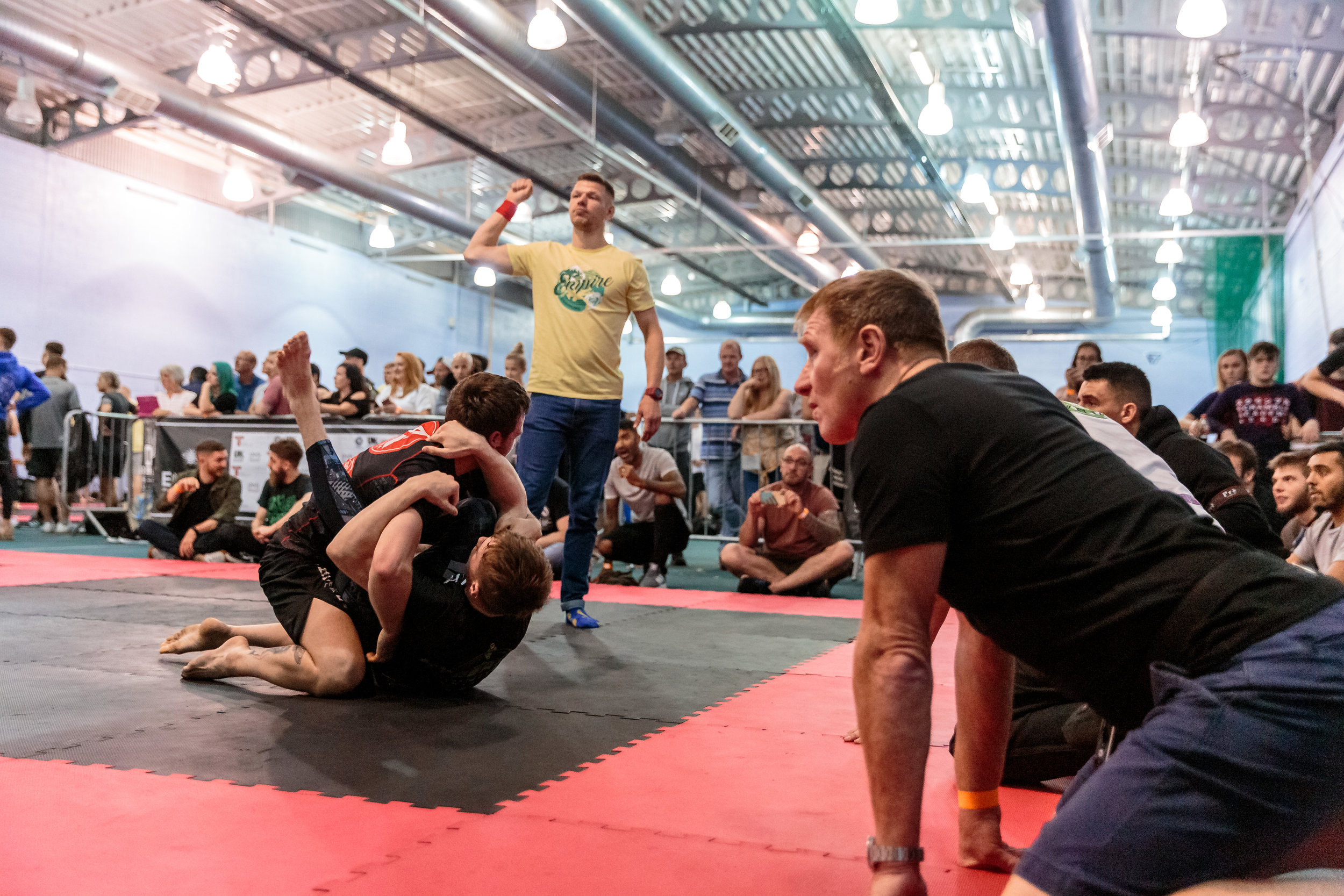 Move of the Day: Last Minute Sweep From Hayden Baldwin to take the match at Empire Grappling