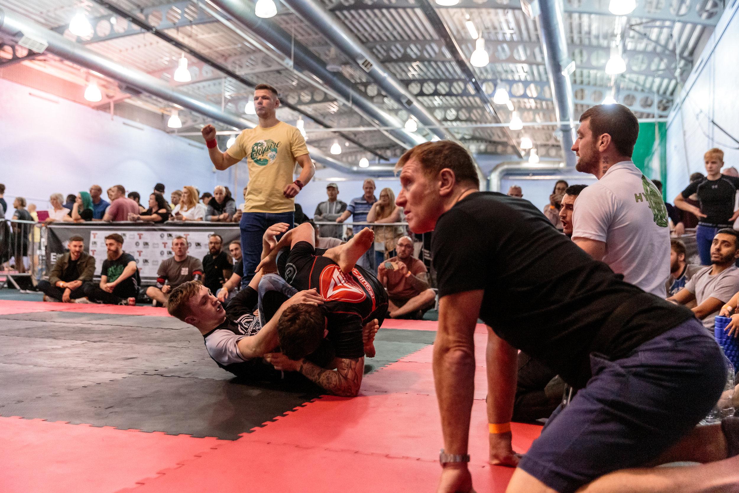 Hayden Baldwin vs Michael Wright at Empire Grappling 11 Yorkshire Open - August 2019