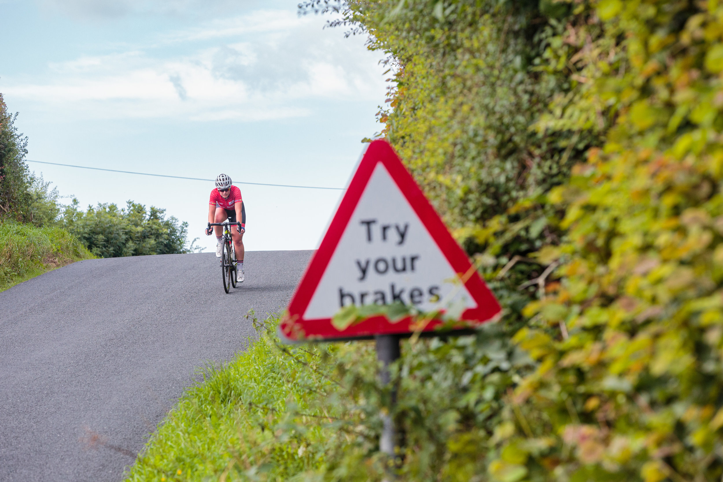 Cyclist Advice: Try Your Brakes