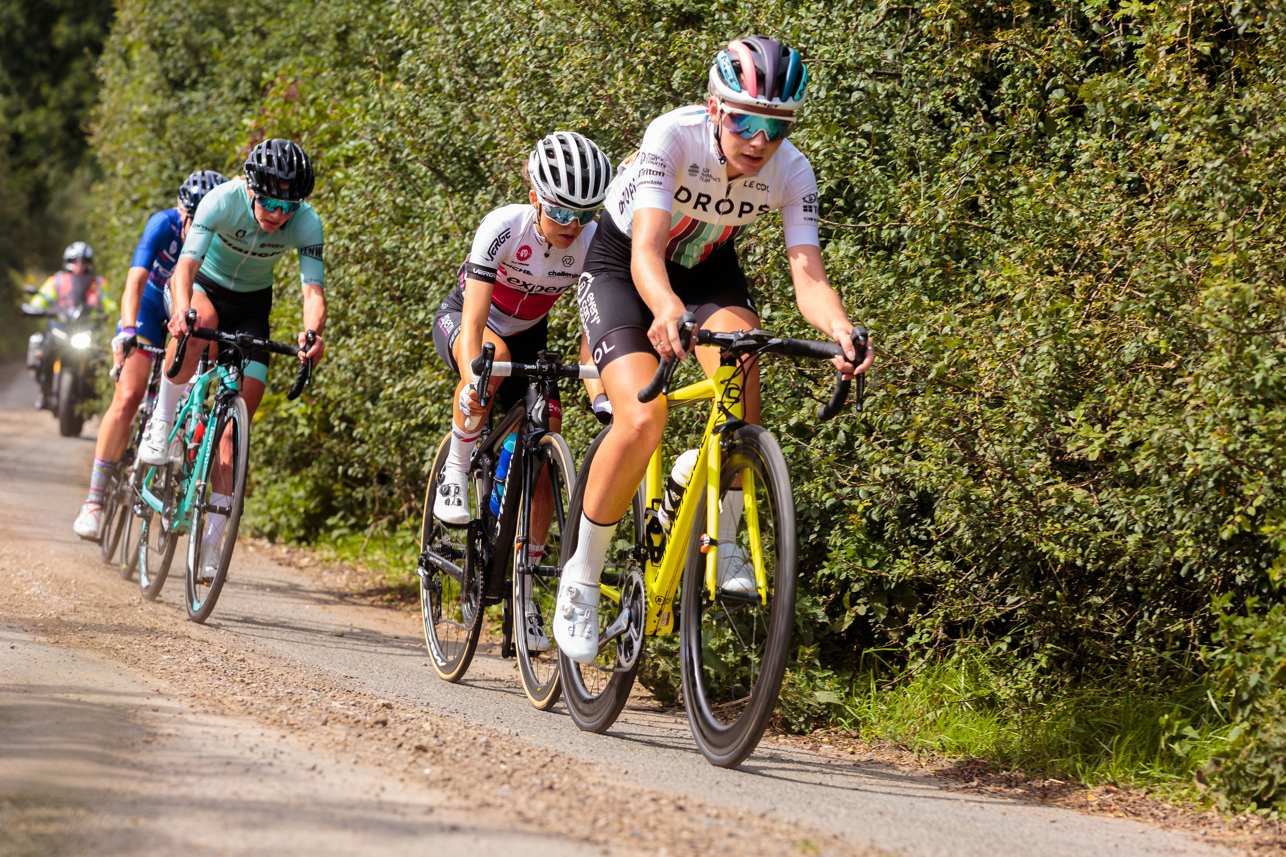 Anna Christian Cycling for Drops at The Ryedale Grand Prix
