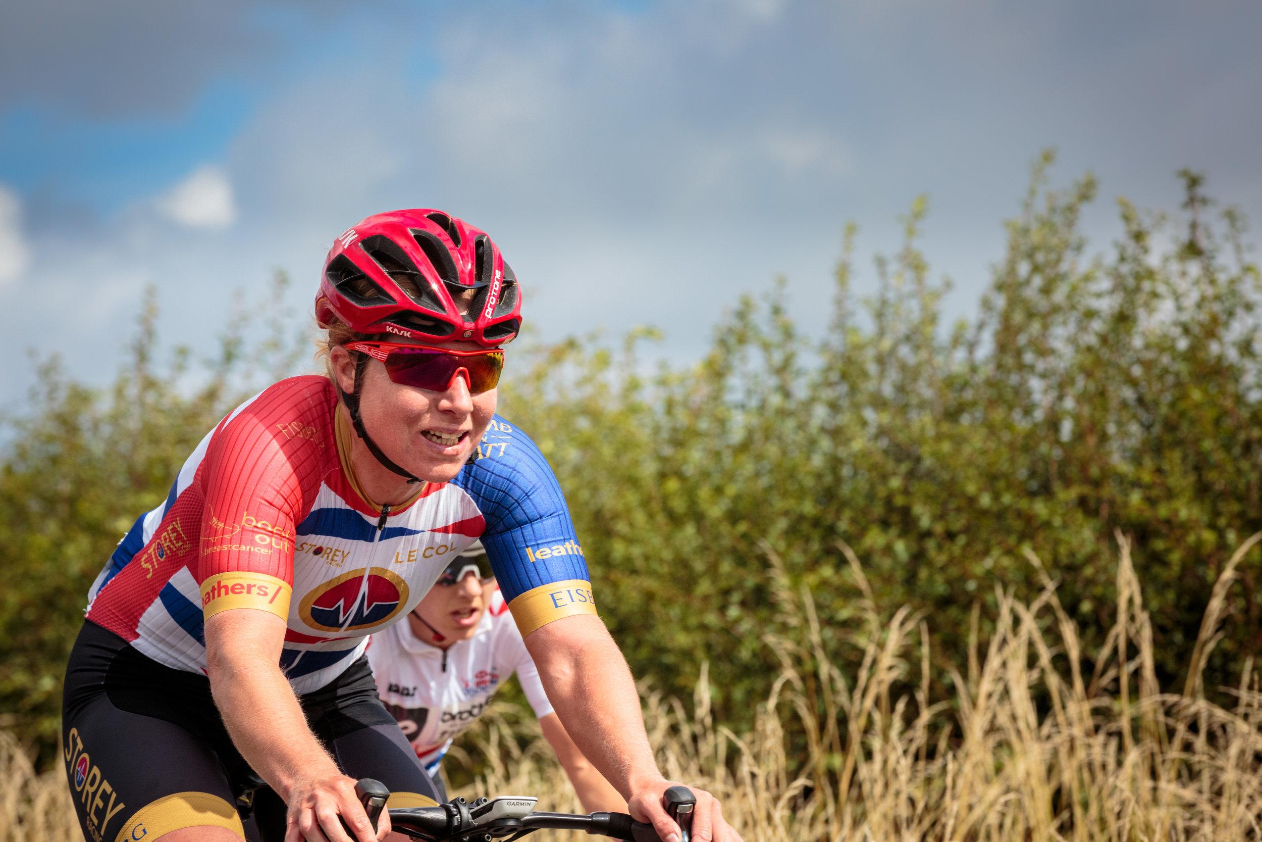 Team Storey Racing Suffering on the Climb