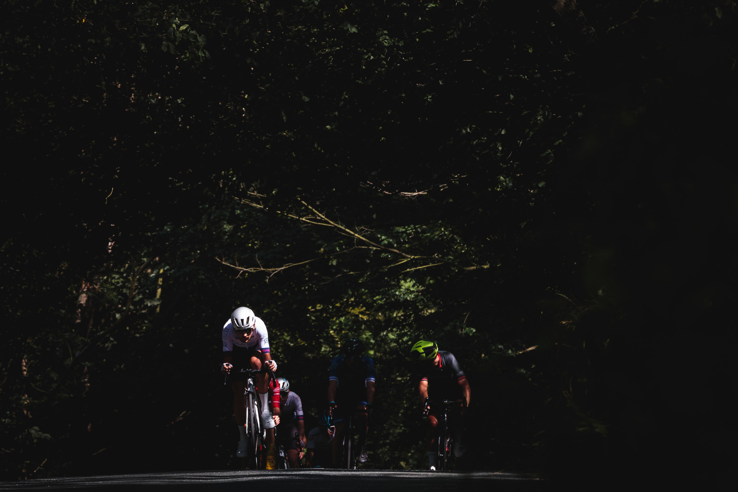 Playing with Light and Cyclists