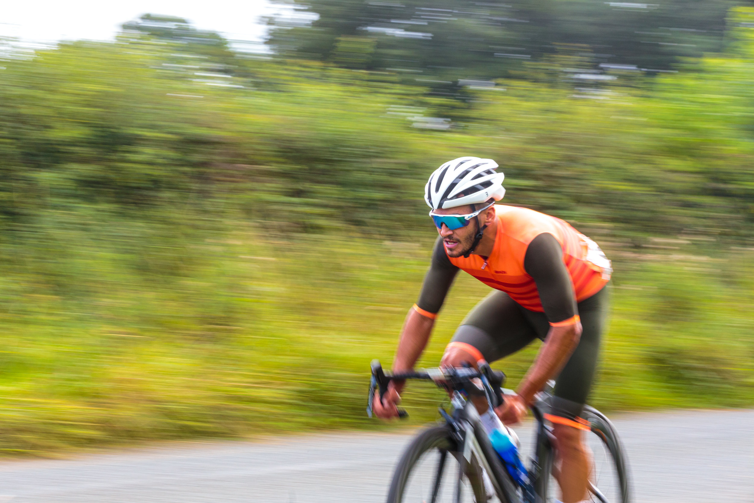 It's all a blur for Saint Piran Cyclist